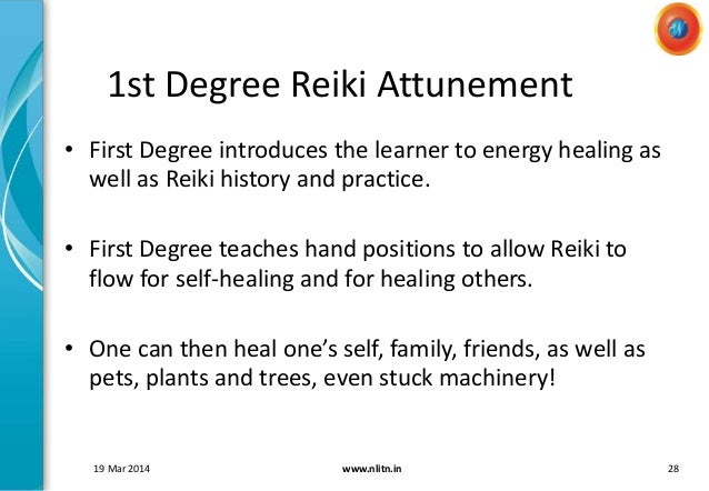 Reiki Level1 Training