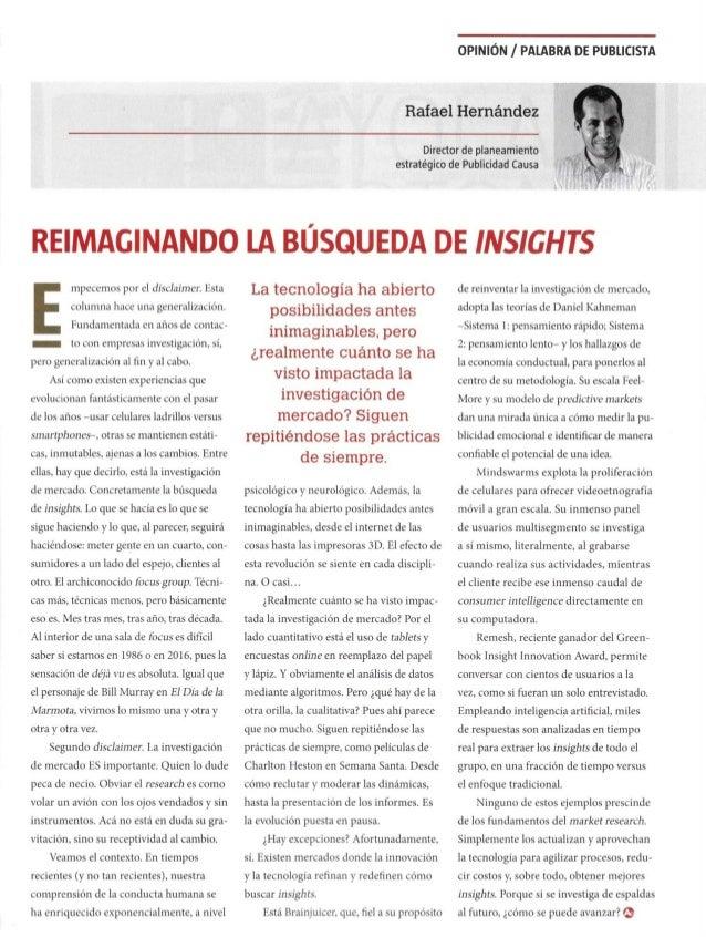 Reimaginando la Búsqueda de Insights