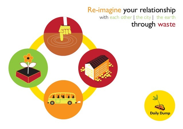 Re-imagine your relationship with each other | the city | the earth through waste