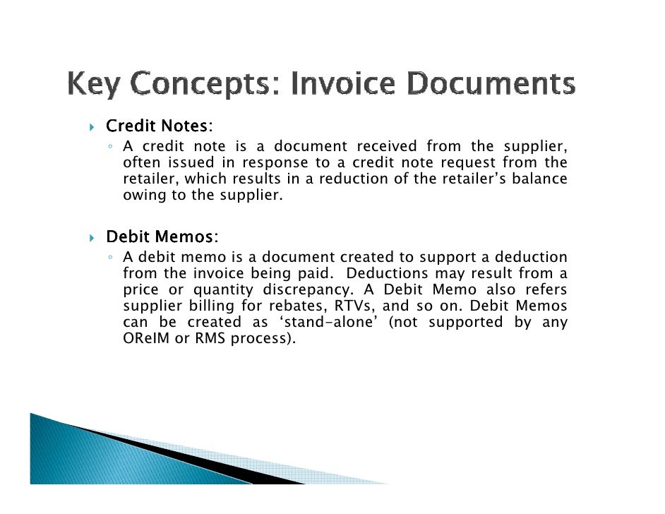 ReIM Functional Overview - Invoice discrepancy meaning