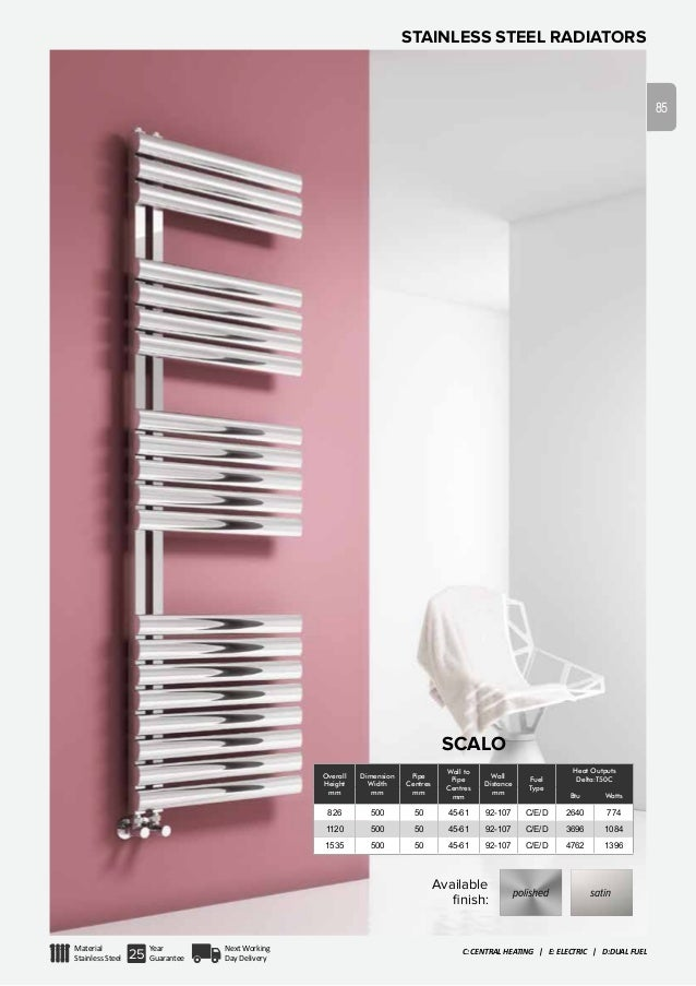 Reina radiators product catalogue 2015