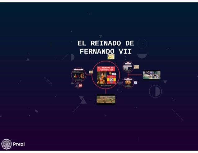 "EL REINADO DE  FERNANDQ VII EE  EL REINADO o:  ,  FERNANDO vn ""49   o  EJ  É y '_   V,  Más. ""  ls'.  Jssf 'amm:  "" ,  , I..."