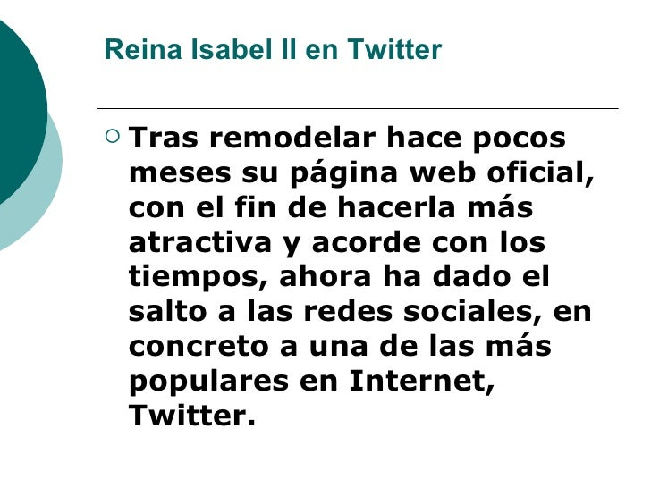 Reina Isabel Ii En Twitter Slide 3