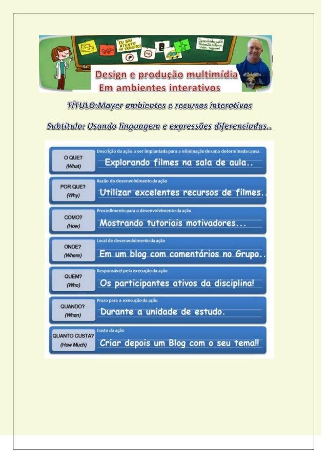 Endereço do Blog: http://mayermm2015.blogspot.com.br/