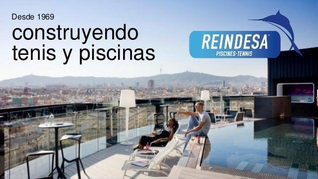 empresas de piscinas en barcelona reindesa construccion