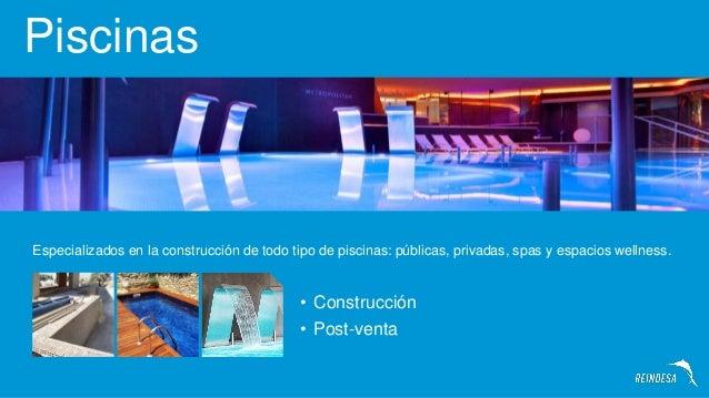 Empresas de piscinas en barcelona reindesa construccion for Piscinas empresas
