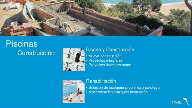 Empresas de piscinas en barcelona reindesa construccion for Construccion de piscinas barcelona