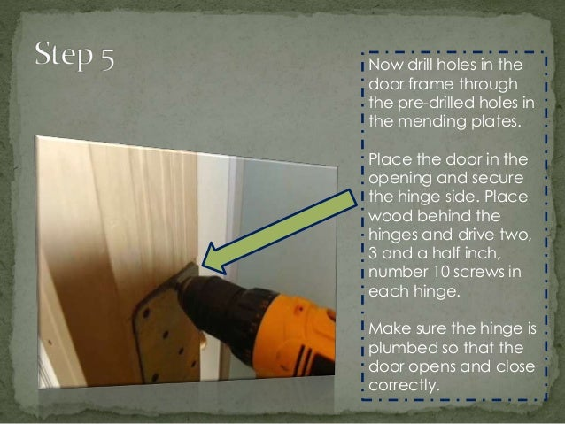 How to Reinforce a door during installation