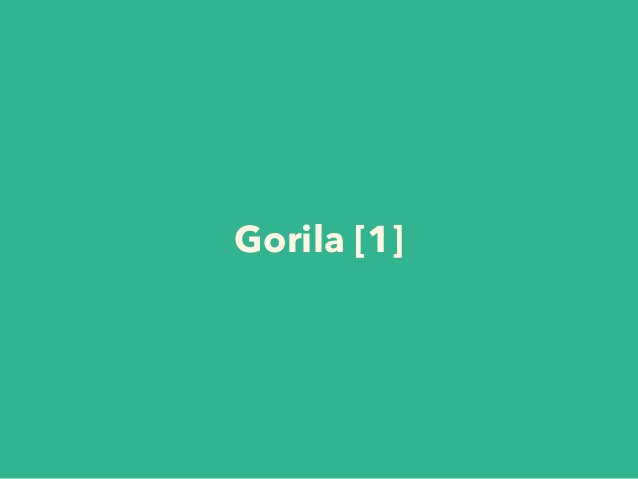 Gorila [1]