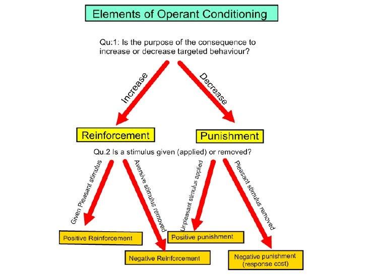 Reinforcement  vs punishment - VCE U4 Psych