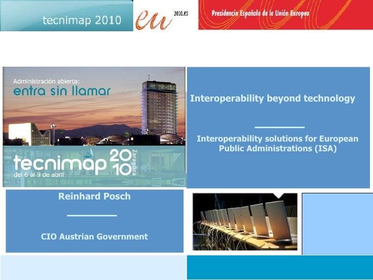Interoperability beyond technology                               Interoperability solutions for European                  ...
