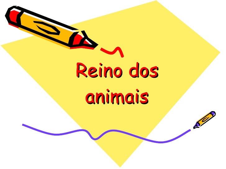 Reino dos animais