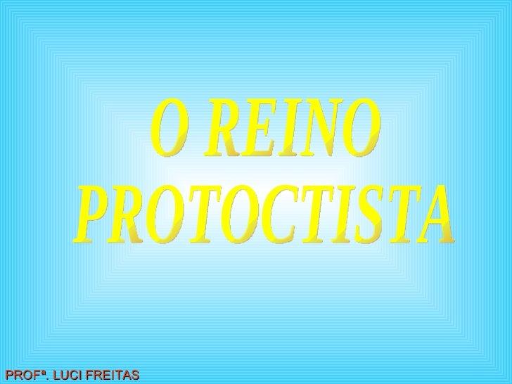 O REINO PROTOCTISTA PROFª. LUCI FREITAS