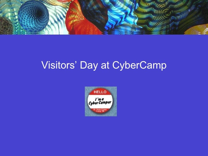 Visitors' Day at CyberCamp