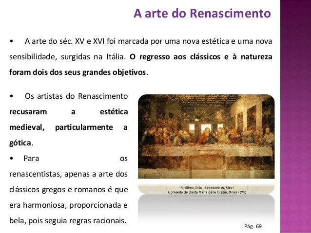 Reinvenção das formas artísticas Slide 2