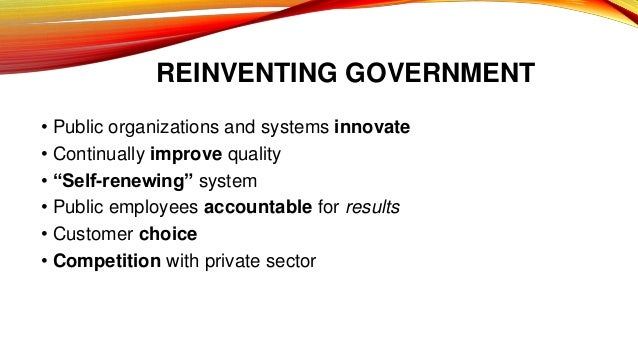 25 Years Later, What Happened to 'Reinventing Government'?