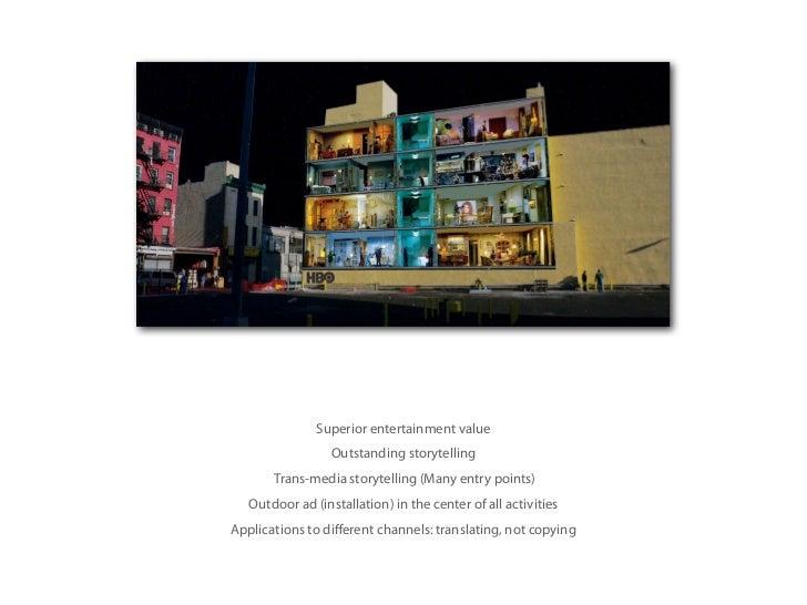 Evolving the idea:HBO Cube (2009)BBDO New York