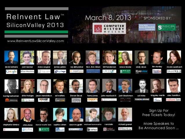 ReInvent Law                                                TM                                                            ...