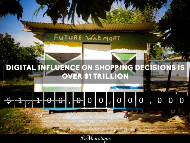 DIGITAL INFLUENCE ON SHOPPING DECISIONS IS OVER $1 TRILLION $	    1	    ,	    1	    0	    0	    0	    0	    0	    0	    0	...