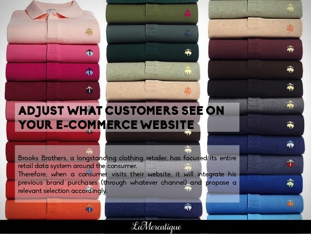 Brooks Brothers, a longstanding clothing retailer, has focused its entire retail data system around the consumer. Therefor...