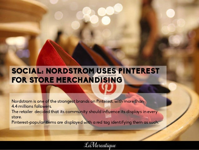 Nordstrom is one of the strongest brands on Pinterest, with more than 4.4 millions followers. The retailer decided that it...