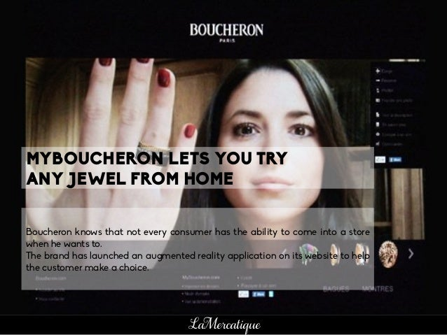 Boucheron knows that not every consumer has the ability to come into a store when he wants to. The brand has launched an a...