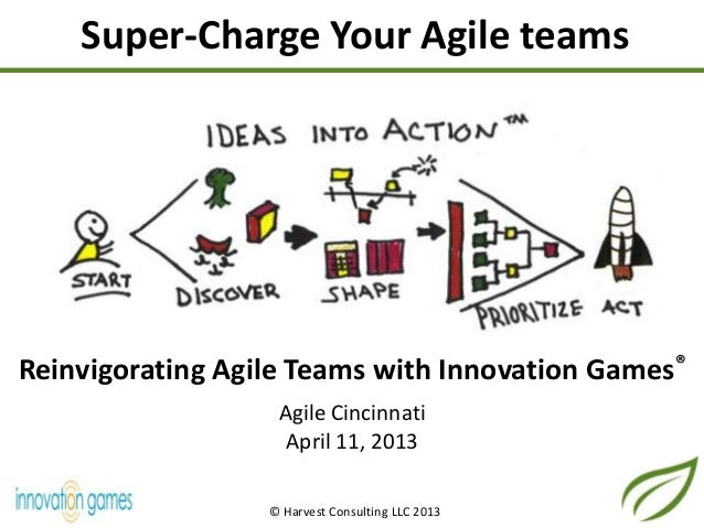 Technology Management Image: Reinvigorating Agile Teams With Innovation Games®