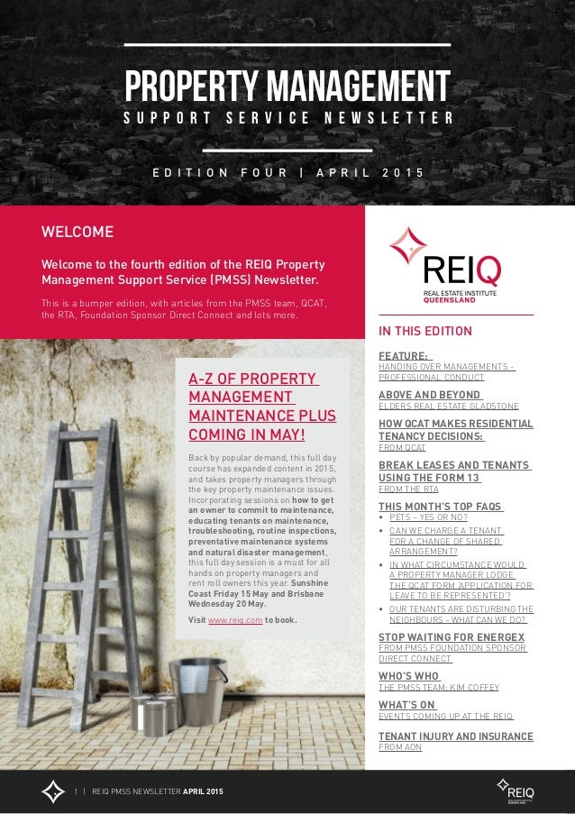 Reiq Property Management Agreement