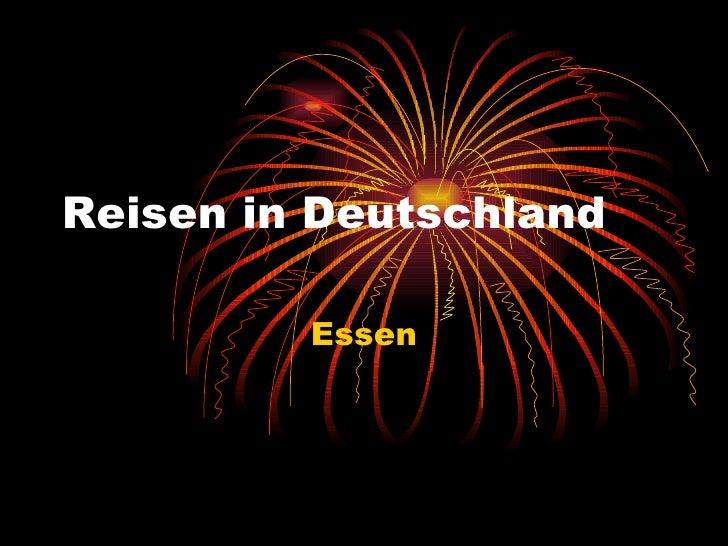 Reisen in Deutschland Essen