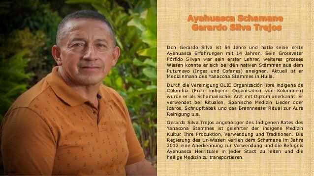 Don Gerardo Silva ist 54 Jahre und hatte seine erste Ayahuasca Erfahrungen mit 14 Jahren. Sein Grossvater Pórfido Silvan w...