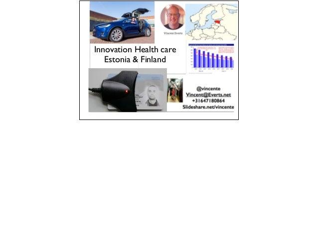 Innovation Health care Estonia & Finland