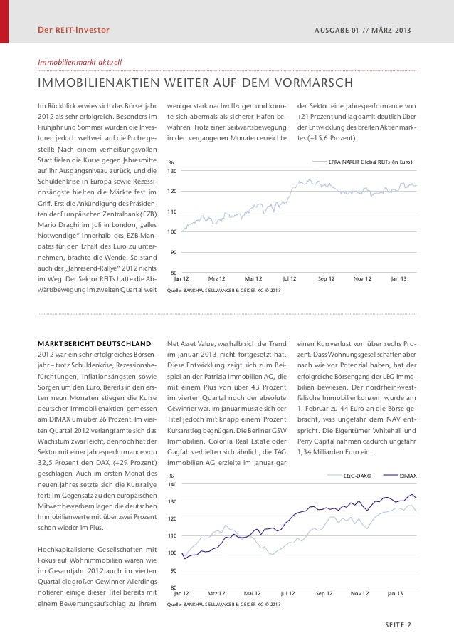 Der REIT-Investor 01/2013 - März 2013 Slide 2