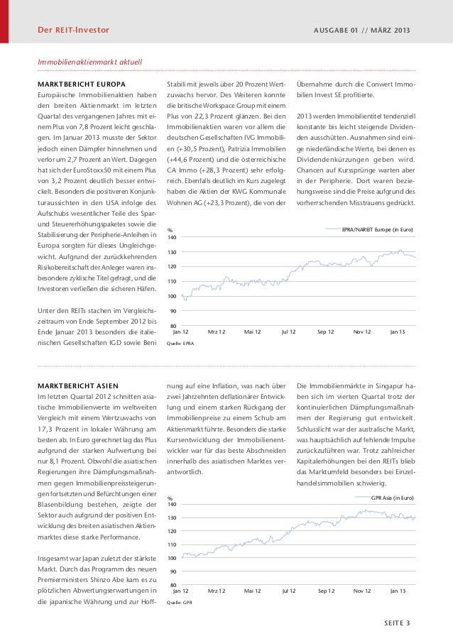 Der REIT-Investor 01/2013 - März 2013 Slide 3