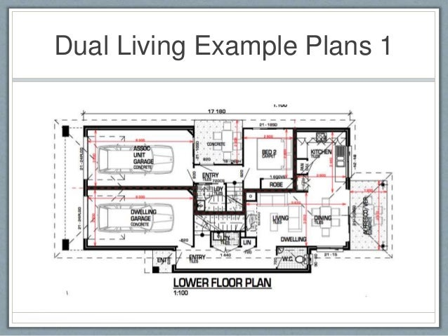 Dual Living Example Plans 1; 16.