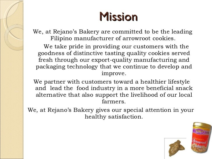 analyzing the vision statement of cookie Team aam is driven by a culture of operational excellence, technology  leadership and quality our cultural values and strategic principles.