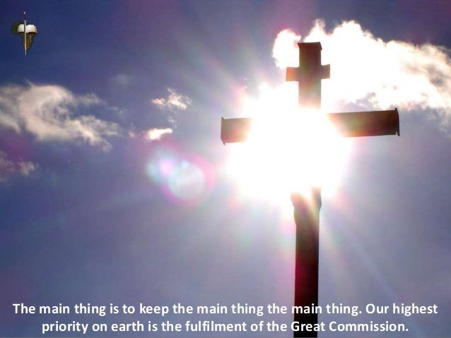 For us to teach the nations to obey all things that the Lord has commanded,
