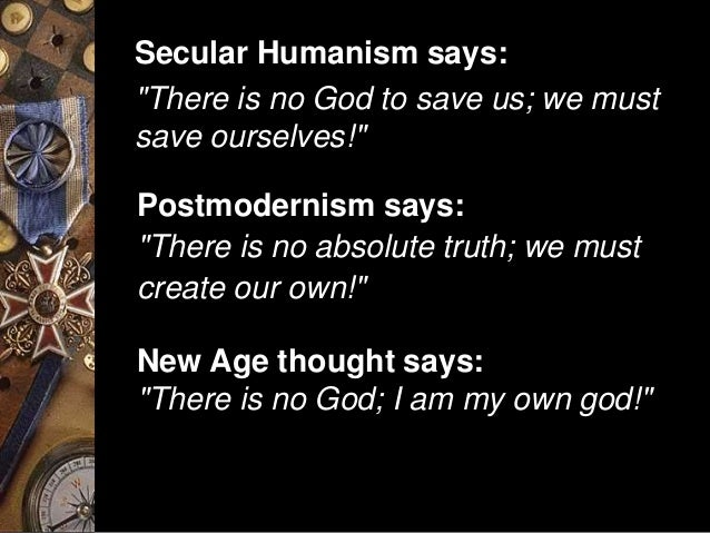 Rejecting the Influence of Secular Humanism