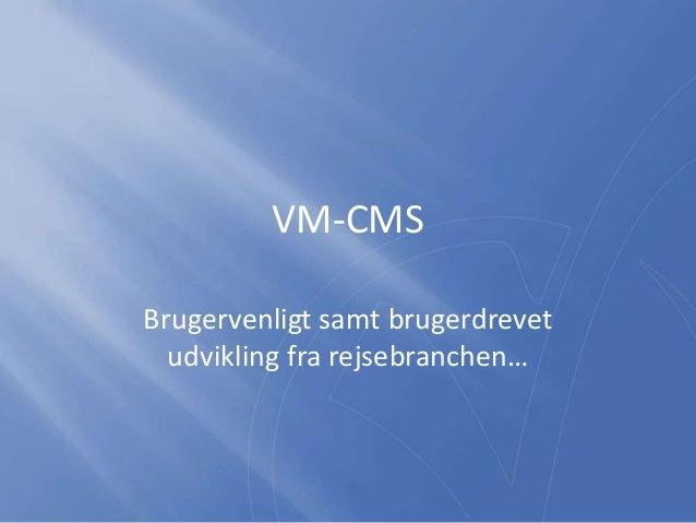 Hjemmeside til Rejsebureauer CMS og features Slide 3
