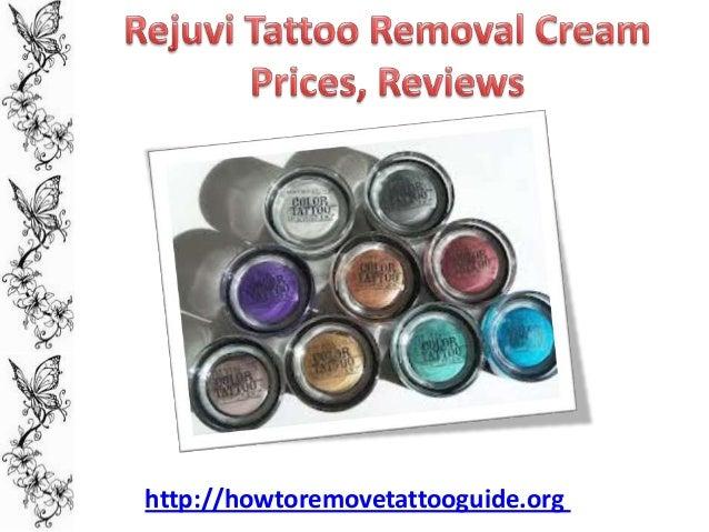Rejuvi tattoo removal cream prices reviews for Tattoo removal cream review