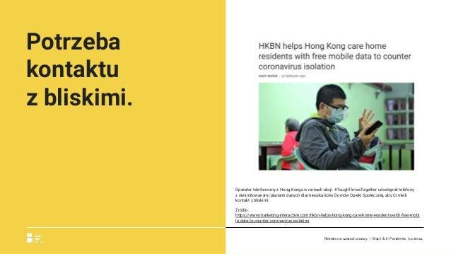 Potrzeba kontaktu zbliskimi. Operator telefoniczny z Hong-Kongu w ramach akcji #ToughTimesTogether udostępnił telefony z...