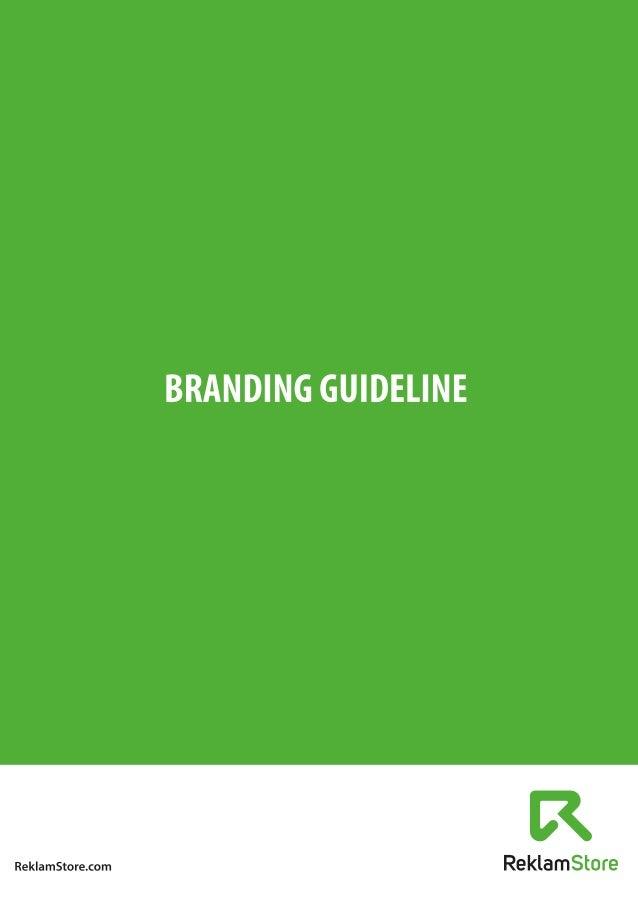 ReklamStore Branding Guideline