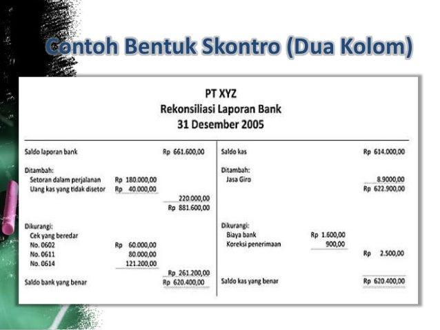 Rekonsiliasi Bank Akuntansi Keuangan Menengah
