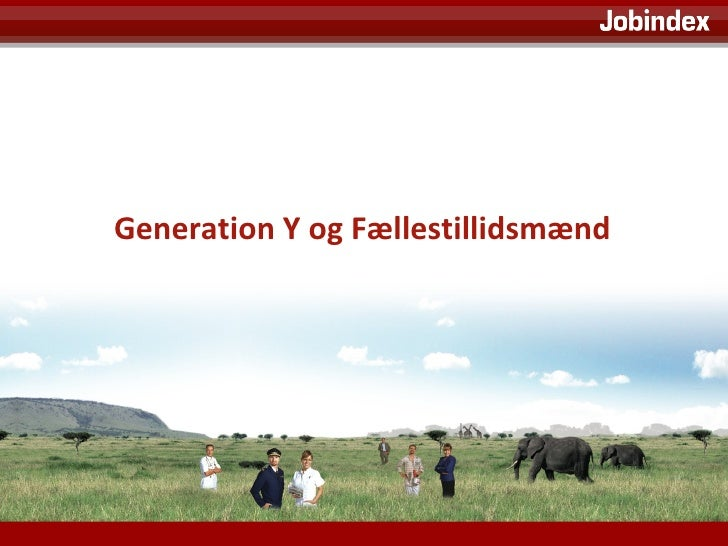 Generation Y og Fællestillidsmænd