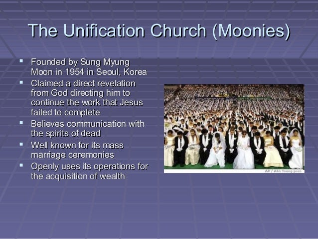 Unification church beliefs