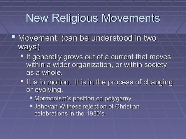 new religious movements Religious studies 490: senior seminar new religious movements joseph adler fall 2013 o'connor 204 tues 7-10 pm adlerj@kenyonedu lentz 104.