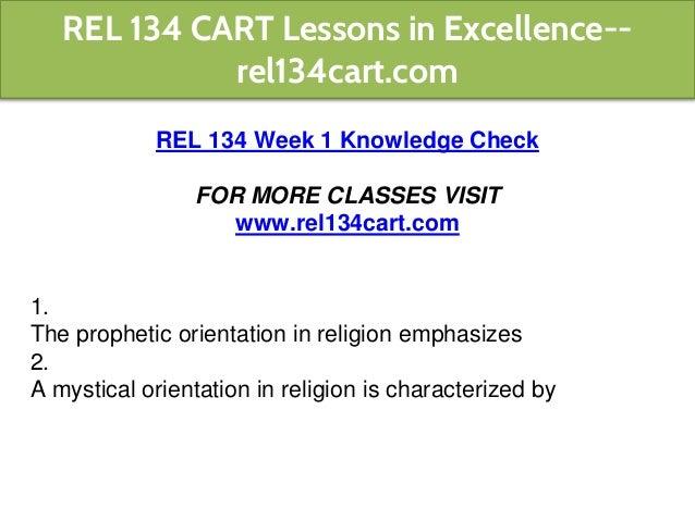 the prophetic orientation in religion emphasizes