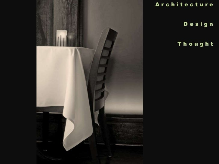 Architecture<br />Design<br />Thought<br />