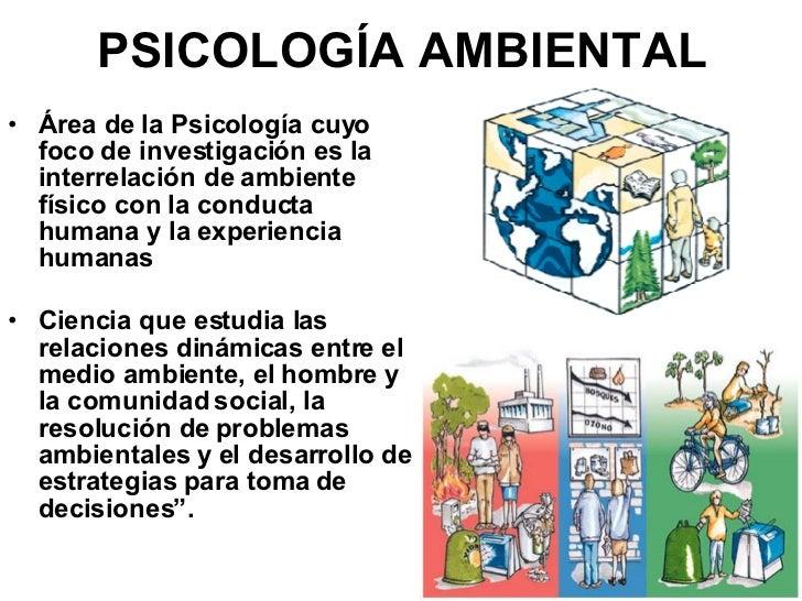 Relaci n entre ecolog a y psicolog a 1 for Arquitectura que se estudia