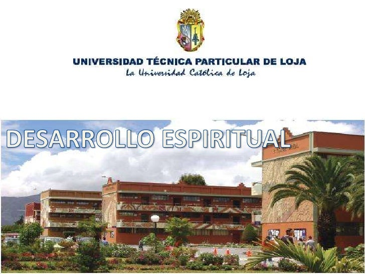 DESARROLLO ESPIRITUAL<br />