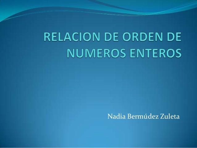 Nadia Bermúdez Zuleta